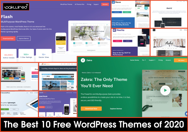 The 10 Best Free WordPress Themes of 2020